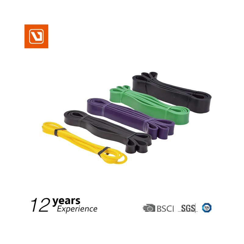Pull Up Assist Bands Functional Fitness. Heavy Duty Resistance and Assistance Training Bands.