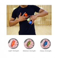 SIMPLY LEAN ON THE MASSAGE BALL AND USE YOUR OWN BODY WEIGHT AND GRAVITY TO RELIEVE MUSCLE KNOTS